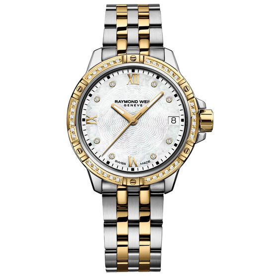 Raymond Weil Tango Diamond Dial & Bezel Watch