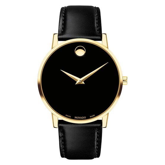 Movado Museum Classic Yellow PVD Watch