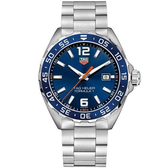 TAG Heuer Formula 1 Quartz Mens Blue Steel Watch