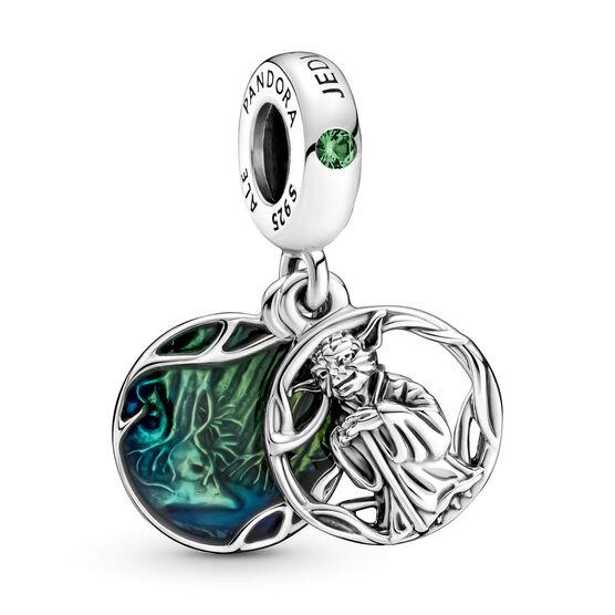 Pandora Star Wars Yoda Crystal & Enamel Dangle Charm