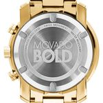 Movado Bold Chronograph Yellow Ion Watch, 44mm