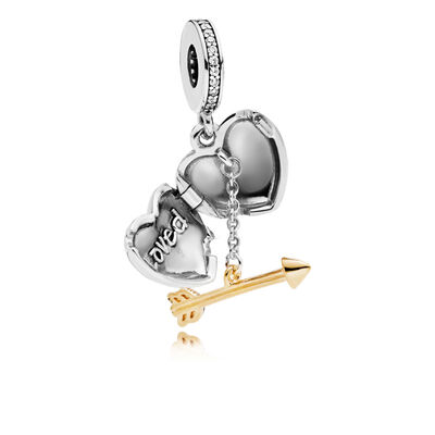 Pandora Shine™ & Silver Arrow of Love Limited Edition CZ Dangle Charm