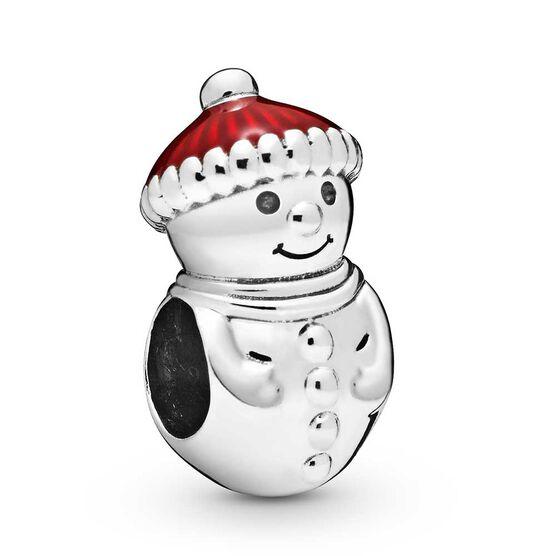 Pandora Snowman & Santa Hat Enamel Charm