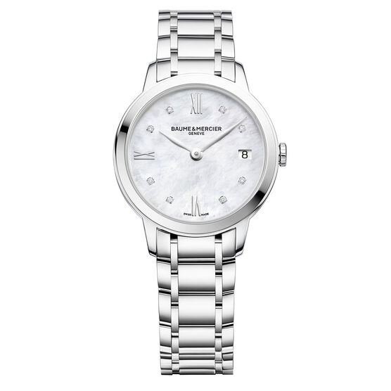 Baume & Mercier Diamond CLASSIMA Quartz Watch, 31mm