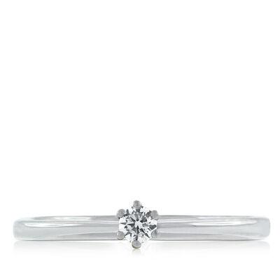 Dainty Diamond Ring 14K