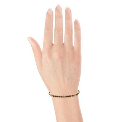 Garnet Bracelet 14K