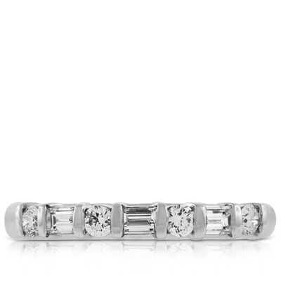 Diamond Band, 1/2 ctw. in Platinum