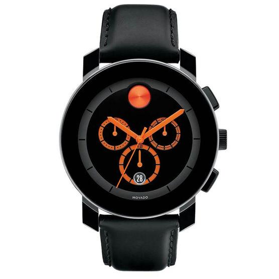 Movado Bold TR90 Orange Detailed Chronograph Watch, 43.5mm