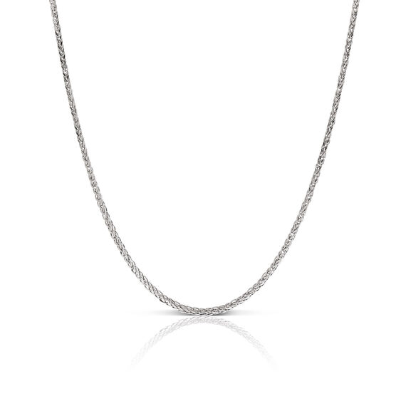 Square Wheat Chain 14K, 20""