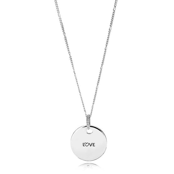 Pandora Love Disc Necklace