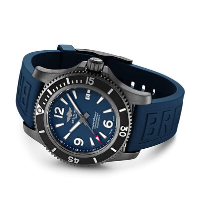 Breitling Superocean Automatic 46 Black Steel Watch