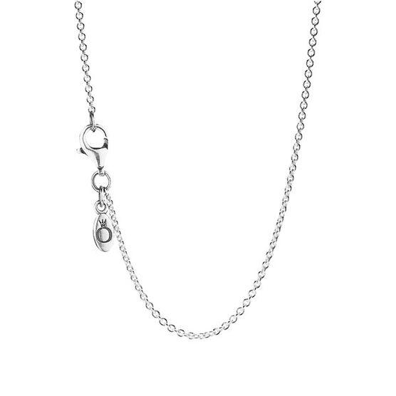 "Pandora Sterling Silver Chain, 45cm/17.7"""