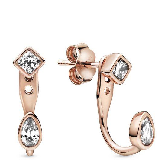 Pandora Rose™ Geometric Shapes CZ Stud Earrings