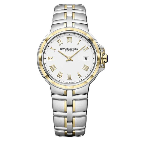 Raymond Weil Ladies Parsifal Two-Tone Quartz Watch, 30mm