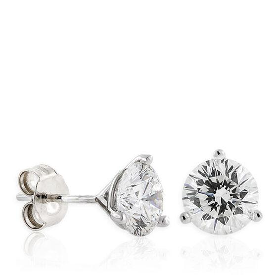 Signature Forevermark Diamond Earrings 18K, 2 ctw.