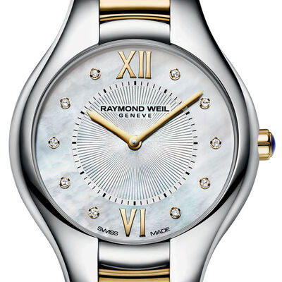 Raymond Weil Noemia Diamond Watch, 32mm