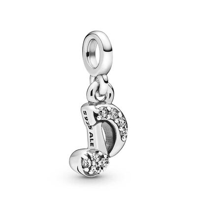 Pandora Me My Musical Note CZ Dangle Charm