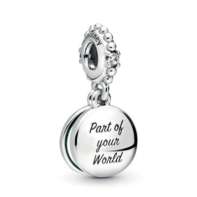 Pandora Disney Ariel Enamel & CZ Dangle Charm