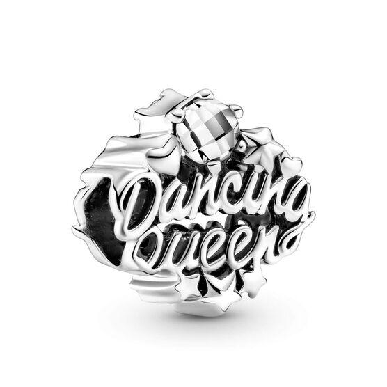 Pandora Openwork Dancing Queen CZ Charm