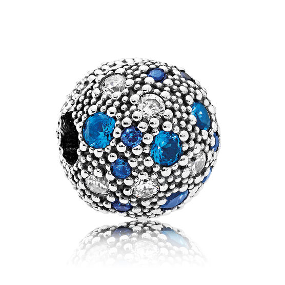 Pandora Cosmic Stars Crystal & CZ Clip