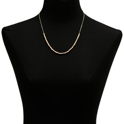 Toscano Multi-ring Necklace 14K