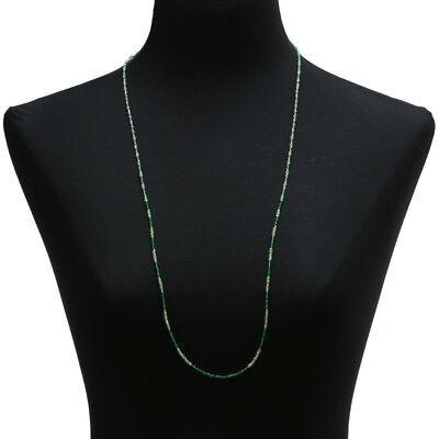 Lisa Bridge Peridot & Quartz Necklace