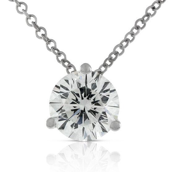 Signature Forevermark Diamond Pendant 18K, 1 ct.