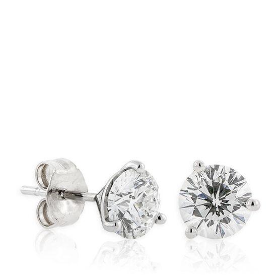 Signature Forevermark Diamond Earrings 18K, 1 & 1/2 ctw.