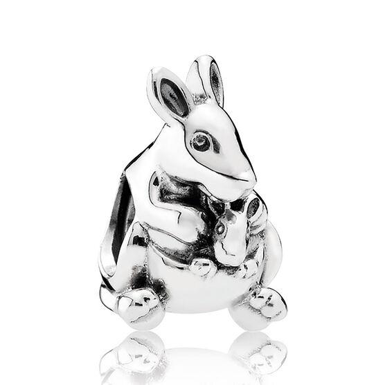 Pandora Kangaroo & Baby Charm