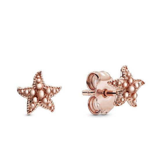 Pandora Rose™ Beaded Starfish Stud Earrings