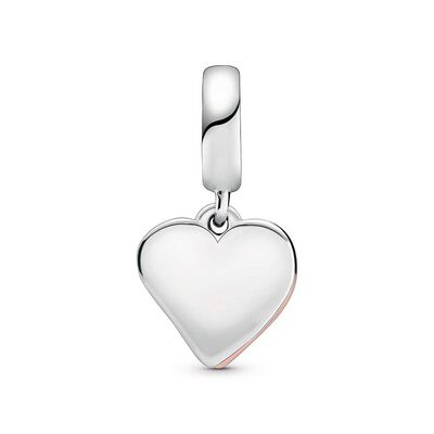 Pandora Rose™ Sparkling Freehand CZ Heart Dangle Charm
