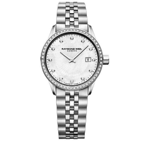 Raymond Weil Freelancer Ladies Diamond Quartz Watch 29mm