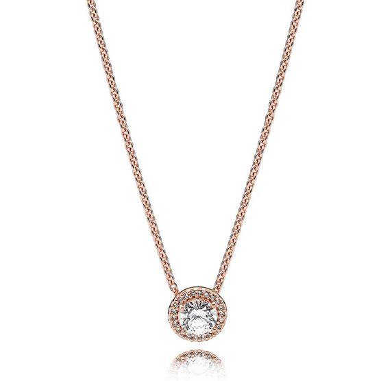 PANDORA Rose™ Classic Elegance CZ Necklace