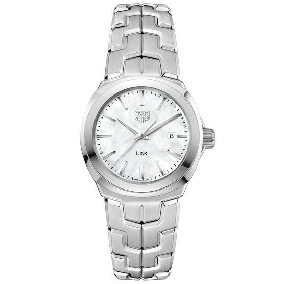 TAG Heuer Link Quartz Ladies Mother of Pearl Steel Watch