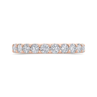Bella Ponte Rose Gold Diamond Band 14K, 3/4 ctw.