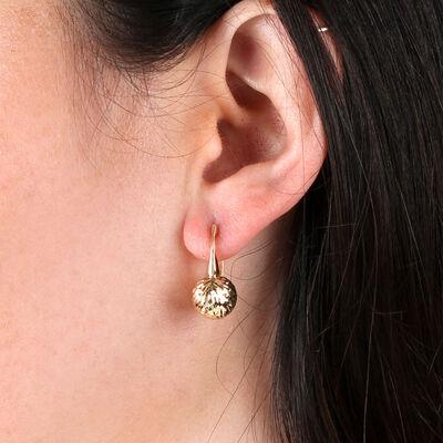 Toscano Ball Earrings 14K