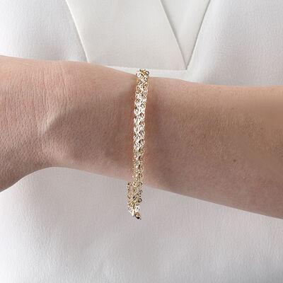 Toscano Soft Round Link Bracelet 14K