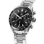 TAG Heuer Carrera Heuer 02 Automatic Mens Black Steel Watch