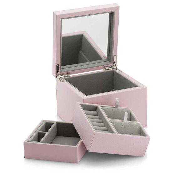 Pandora Small Pink PU Leather Jewelry Box