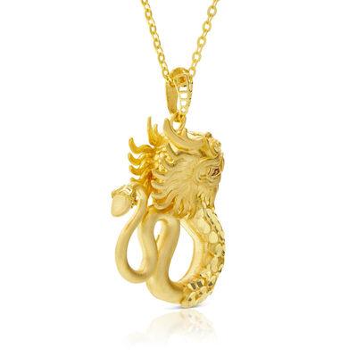 Dragon Necklace 14K