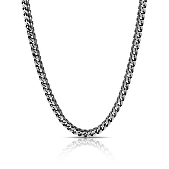 Black Stainless Steel Men's Necklace