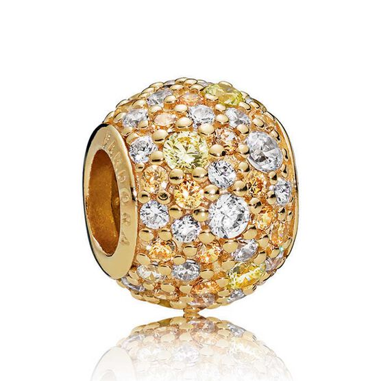 Pandora Shine™ Golden Mix CZ Pavé Charm