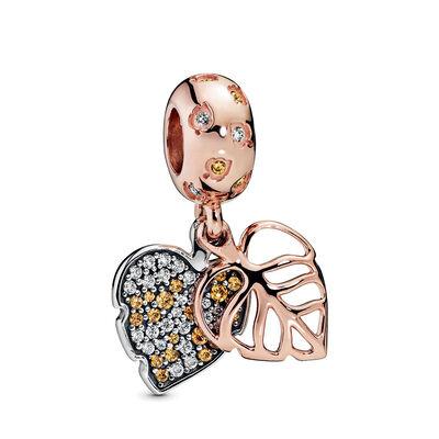 Pandora Rose™ Pandora Wonderland Sparkling Leaves CZ Dangle Charm