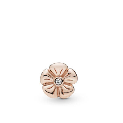 Pandora Rose™ Classic Flower Petite Element CZ Locket Charm