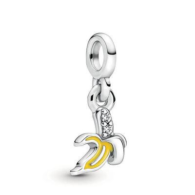 Pandora ME Mini Cool Banana Enamel & CZ Dangle Charm