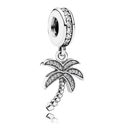 PANDORA Sparkling Palm Tree Charm