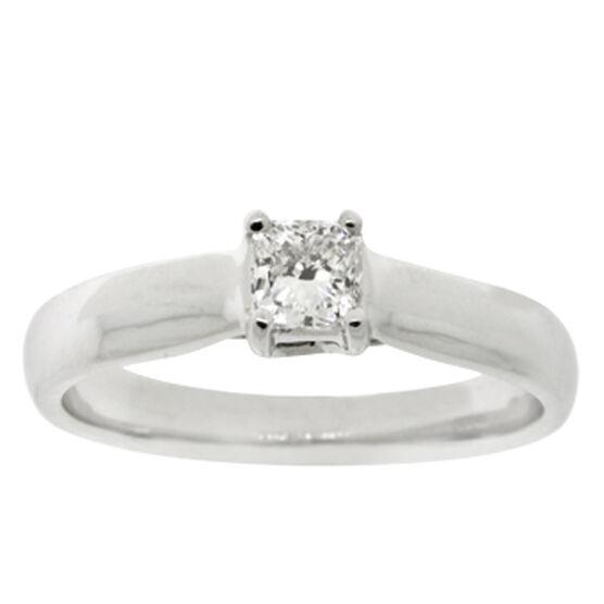 Ikuma Canadian Diamond Solitaire Ring 14K, 1/3 ct.