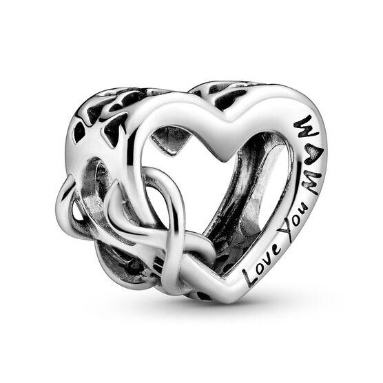 Pandora Love You Mom Infinity Heart Charm