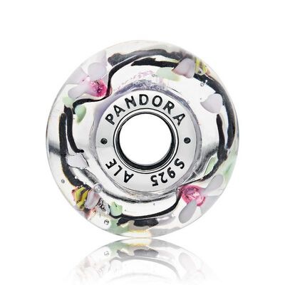 Pandora Enchanted Garden Murano Glass Charm
