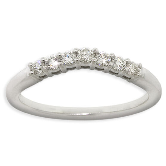 Contour Diamond Band 14K